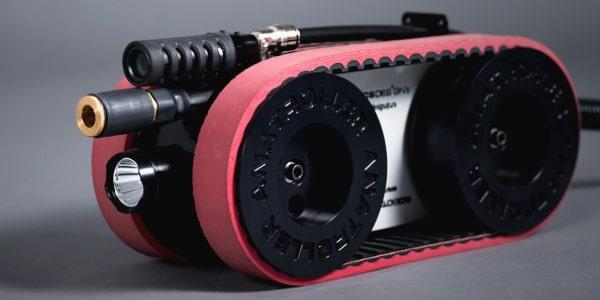 Robot ANATROLLER ARI-50 - d'inspection et de nettoyage CVAC