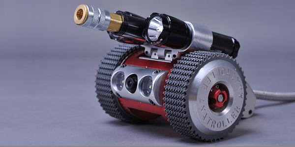 Robot ANATROLLER ARI-10 - d'inspection et de nettoyage CVAC