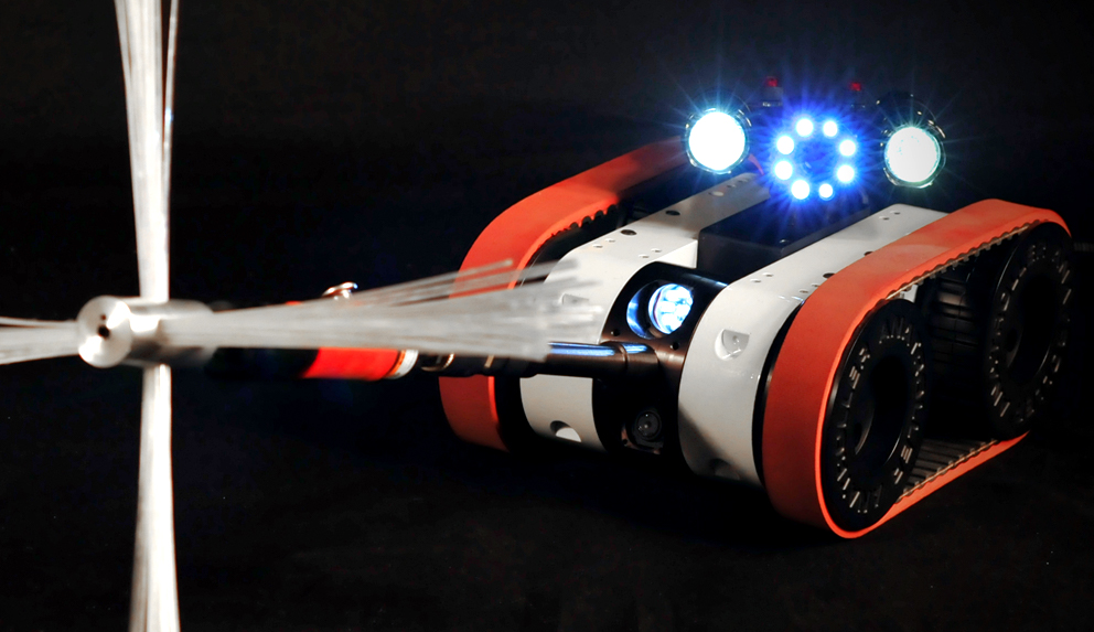 Robot ANATROLLER ARI-100 - Inspection et de nettoyage CVAC